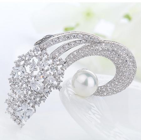 Broşă Classic Pearl Luxury [4]