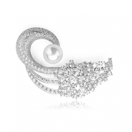 Broşă Classic Pearl Luxury [0]