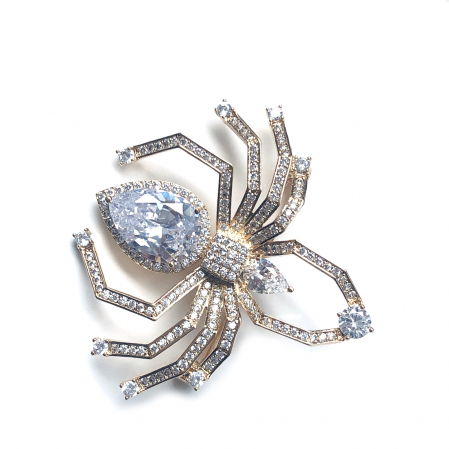 Spider Broşă Gold0