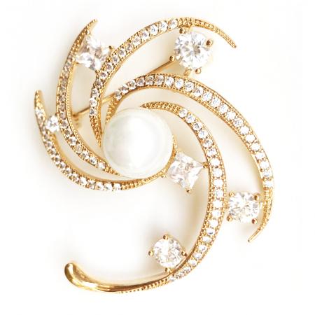 Broşă Star Pearl Luxury [2]