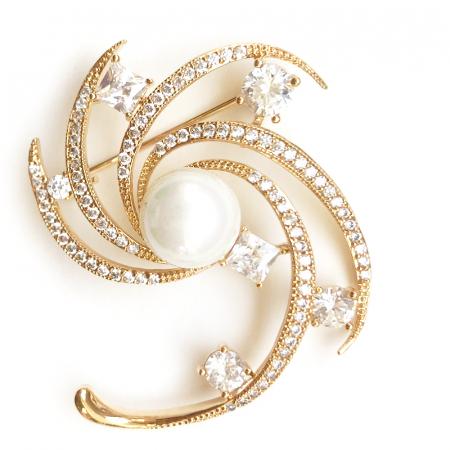 Broşă Star Pearl Luxury [0]