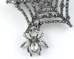 Broşă Spider Web1