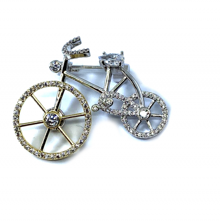 Brosa Bicicleta by Borealy1