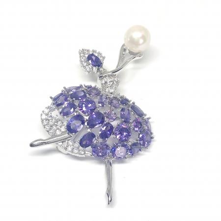 Brosa Purple Ballerina