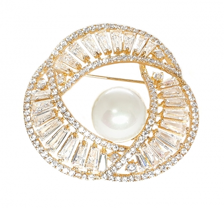 Ivory Pearl Gold Brosa0