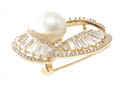 Ivory Pearl Gold Brosa1