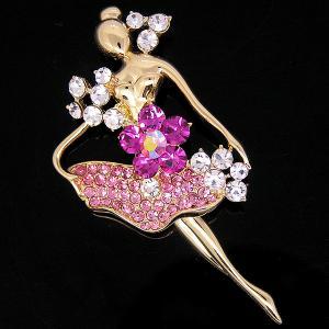 Brosa Balerina - Swan Pink by Borealy1