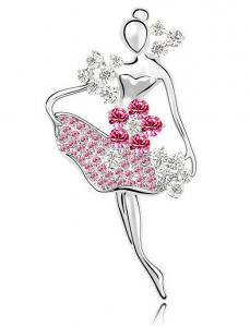 Brosa Balerina - Swan Pink by Borealy0