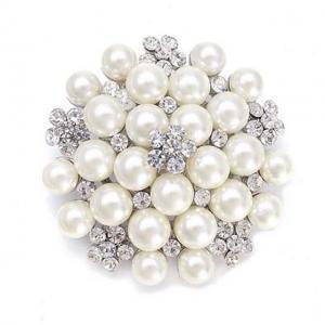 Broşă Classic Pearl0