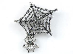Broşă Spider Web0