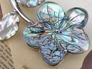 Broşă Shell Intense Fleur1