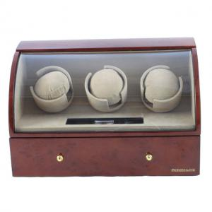 Brown Watch Winder Basel 3 by Designhütte - Made in Germany4