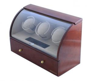 Brown Watch Winder Basel 3 by Designhütte - Made in Germany1