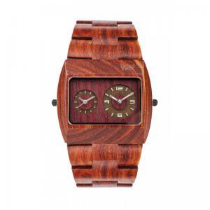 Jupiter Brown Wood Watch for Men - Ceas 100% din lemn lucrat manual1