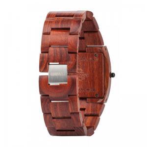 Jupiter Brown Wood Watch for Men - Ceas 100% din lemn lucrat manual2