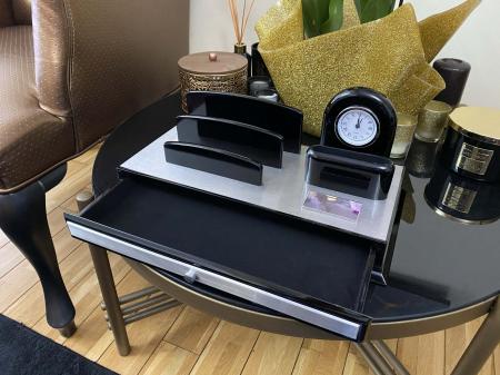Premium Business Desk Silver [4]