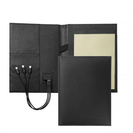 Business Man Storyline Black Mapa A5 + acumulator extern si Batista Matase Desk