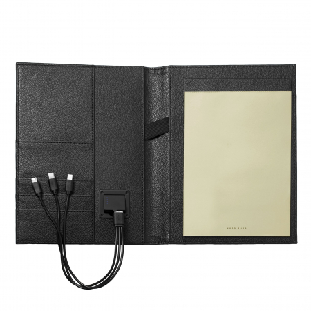Business Man Storyline Black Mapa A5 + acumulator extern si Batista Matase Desk [5]