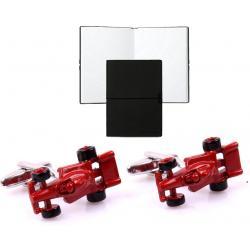 Set Butoni Borealy Ferrari Red Passion si Note pad Black Hugo Boss0