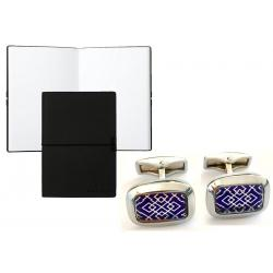 Set Butoni Sophisticated Bluemarine si Note pad Black Hugo Boss0