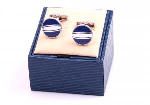 Set Butoni Borealy Elegant Blue Circle si Note pad Black Hugo Boss3
