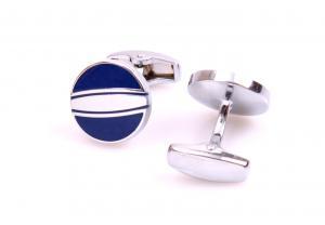 Set Butoni Borealy Elegant Blue Circle si Note pad Black Hugo Boss1