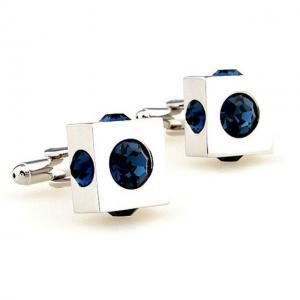 Butoni Borealy Cube Blue Simulated Sapphire2
