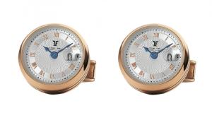 Butoni TF Est 1968 Watch Display - Placati cu Aur Roz - Made in Switzerland0