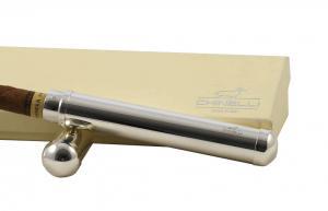 Chinelli set holder și cutter placate cu argint1