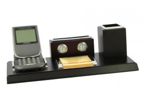 Business Desk Dark Brown Wood0