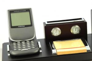 Business Desk Dark Brown Wood1