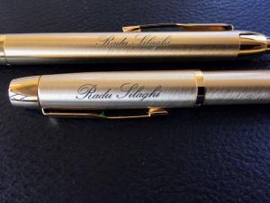 Cadou Businessman by Parker cu stilou placat cu Aur de 24 Kt8
