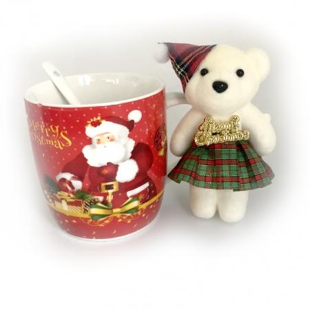 Cadou Cana Christmas & Ursulet