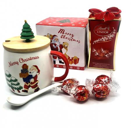 Cadou Craciun Cafea si Ciocolata pentru Mos Craciun