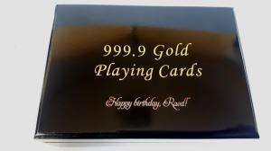 Cadou Gold Magic Playing Cards6