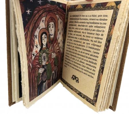 Cadou Icoana Argint 925 Maica Domnului si Carte de Rugaciuni4
