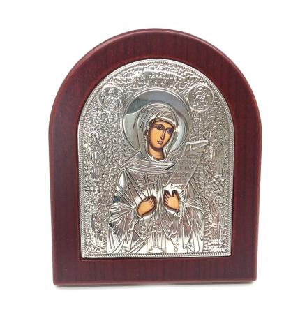 Cadou Icoana Argint 925 Maica Domnului si Carte de Rugaciuni1