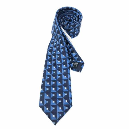 Cadou Style Blue Cravata Matase si Stilou Ungaro Desk3
