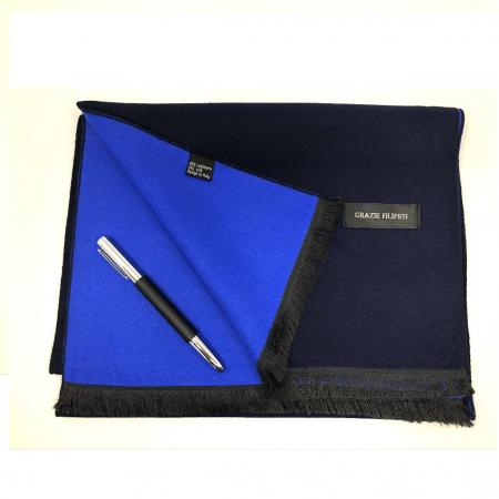 Cadou Style Blue Esarfa Casmir si pix Ungaro