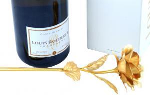 Cadou Gold Rose Louis Roederer2