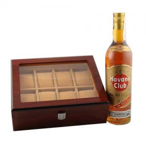 Cadou cutie 8 ceasuri & Havana Club1