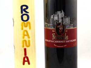 Cadou Romanian Treasure - Sticla Lucrata Manual1