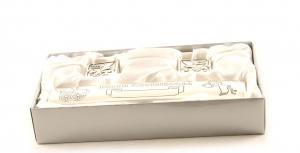 Cadou Botez Argintat pentru Certificat, Prima Buclă si Primul Dinţişor1
