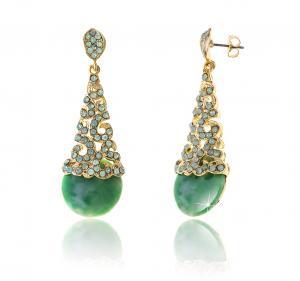 Cercei Borealy Aventurine & Opal Chandelier Green0