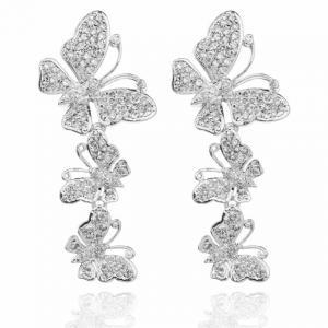 Cercei Fluturi Diamonds Borealy [0]