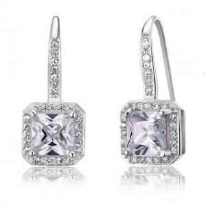 Cercei Borealy Argint 925 Lady Diamond