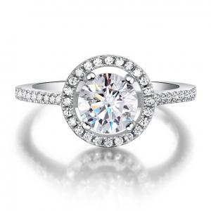 Inel Borealy Argint 925 Zirconiu Simulated Diamond One Marimea 7