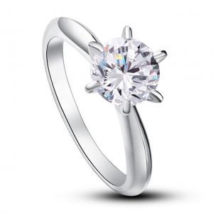 Inel Borealy Argint 925 Solitaire Lux Simulated Diamond Marimea 6