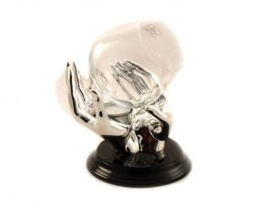 Încălzitor Cognac Silver Hands placat cu argint by Chinelli1