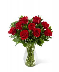 Buchet 19 trandafiri cu vază0